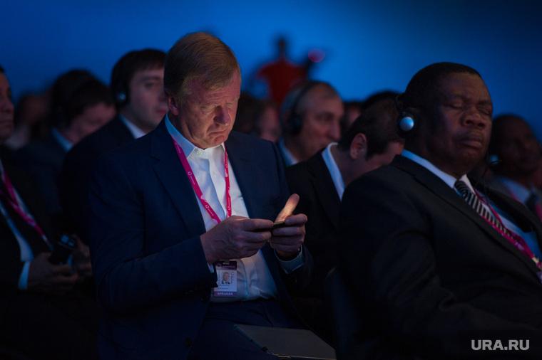 ИННОПРОМ: день первый и визит Дмитрия Медведева. Екатеринбург, чубайс анатолий