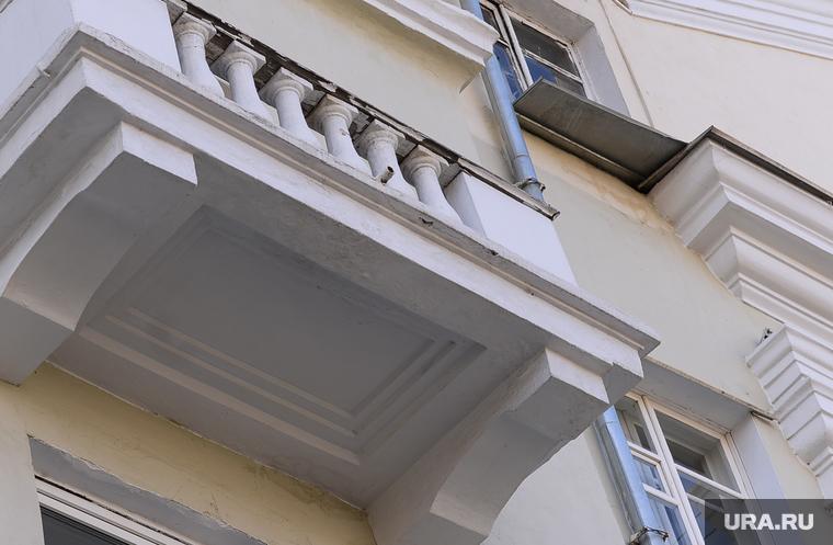 Дом без выхода на балкон..