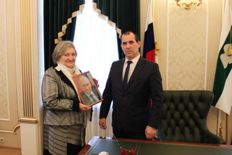 Президент РФ сполнил мечту жительницы Кургана