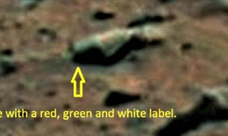 На Марсе обнаружили бутылку пива - Фото