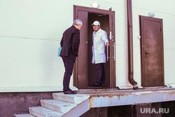 Рабочая поездка губернатора Владимира Якушева в Ялуторовск. Ялуторовск, Тюменская область