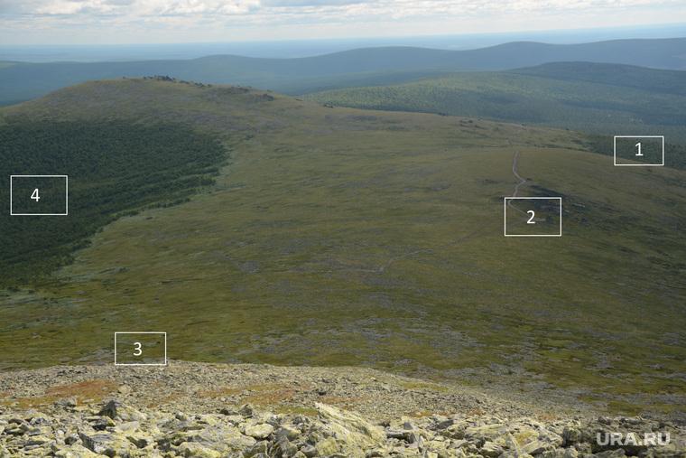 Гора Холатчахль место, где стояла палатка дятловцев
