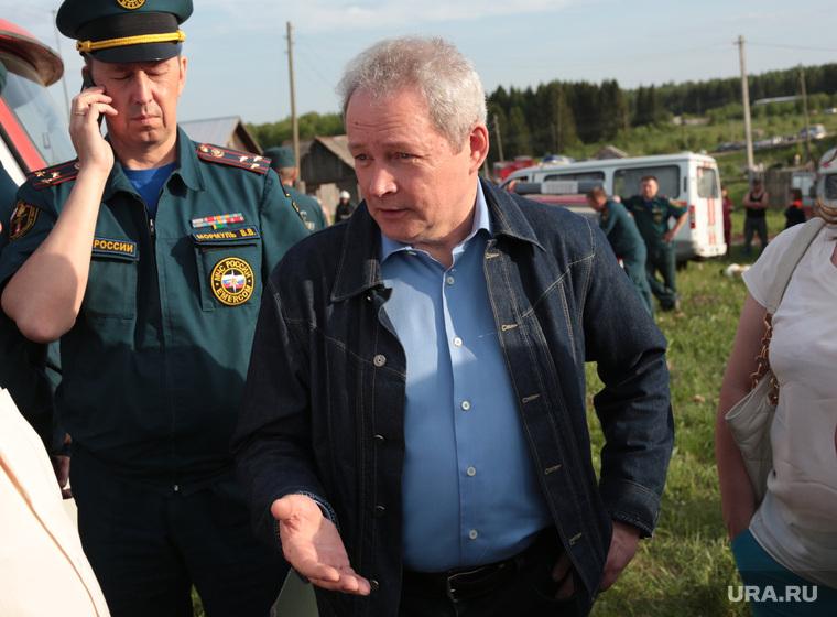 Басаргин тушит предвыборный «пожар»