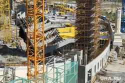 Строительство Центрального стадиона. Екатеринбург, строительная площадка, центральный стадион екатеринбург