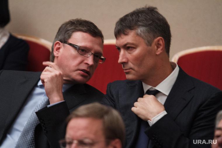 Торжественное вручение мандатов депутатам гордумы, ройзман евгений, бурков александр