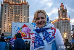 Годовщина присоединения Крыма, митинг у МГУ. Москва, митинг