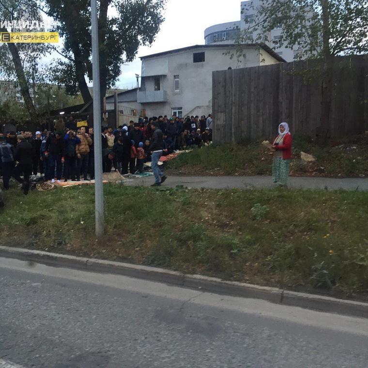 Уральцы испугались толп муслимов в Курбан-Байрам