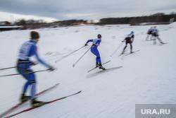Лыжня России-2013, лыжники, лыжня россии, полигон старатель