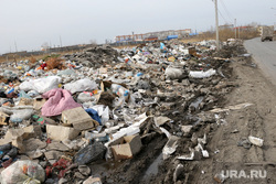 Депутатский рейд Курган, мусор, помойка, свалка
