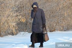Зимний Курган., снег, мороз, холод, зима