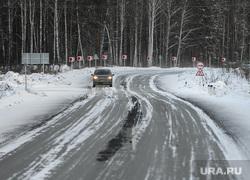 Зимняя дорога. Челябинск, зима, новогорный, дорога, кузнецкое