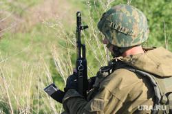 Солдаты, армия. Челябинск., солдат, боец, автомат, армия, оружие
