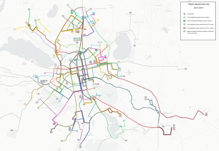 Мэрия Екатеринбурга подсуетилась сперекраиванием маршрутов Сегодня в13:53