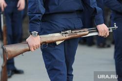 Генеральная репетиция парада 9 мая Челябинск, карабин