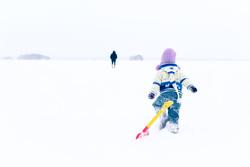 Открытая лицензия от 03.02.2017. Исаакиевский собор, дети зимой, дети, дети зимой, детская лопатка