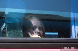 Дети едут в лагерь Челябинск, автобус, дети в лагерь