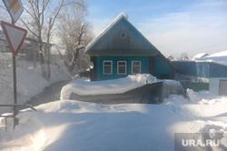 Рабочая поездка губернатора Дубровского в Ашу. Челябинск, сугробы