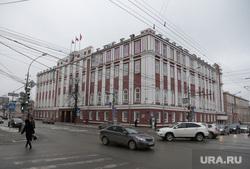 Виды города, основные здания и учреждения, памятники. Пермь, дума пермская городская, пермь