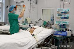 Выездная комиссия гордумы во 2 городскую больницу Курган, больница, реанимация, интенсивная терапия
