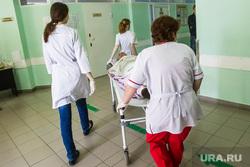 Больницы. Врачи. регистратура. Тюмень, больница, врачи, каталка