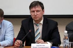 Пресс-конференция ректора КГУ Курган, шалютин борис