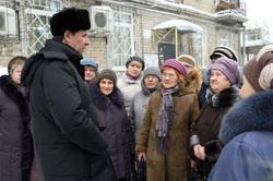 Юревич встретился с бабушками. Челябинск., юревич михаил