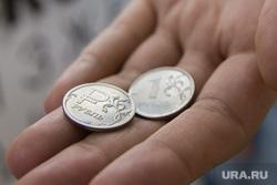 Новый рубль РФ, рубль, монеты, деньги