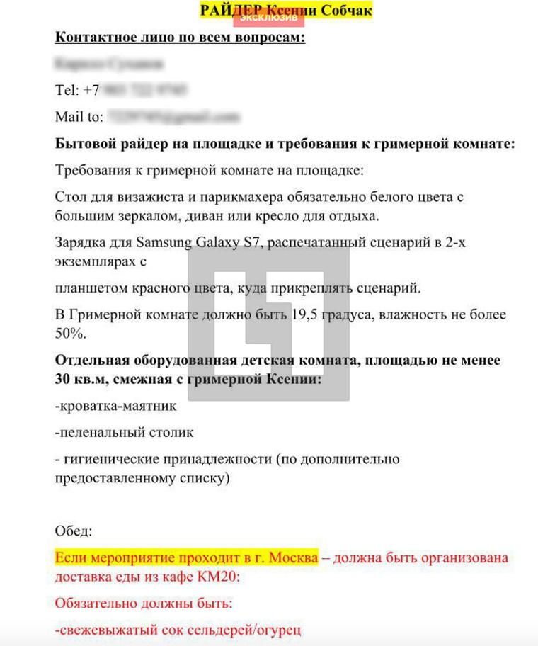 Управляющих «Премии Муз-ТВ 2017» поверг вшок райдер Ксении Собчак