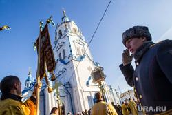 Мощи святого князя Владимира. Тюмень, церковь, крестный ход